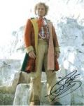 Colin Baker as the Doctor Signed 10 x 8 Photograph #p31
